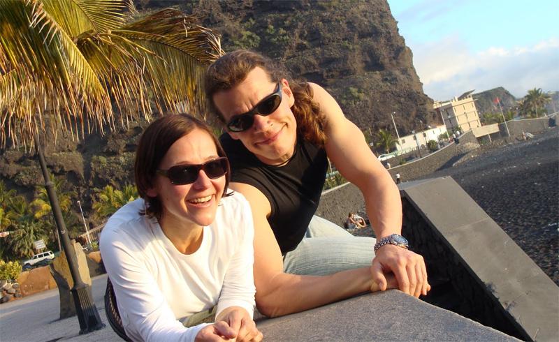 Su und Robi, beide Yogalehrer bei 'Einfach Yoga'